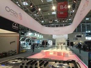 DJ Messe, München, ICM, ISPO, Messeparty 1